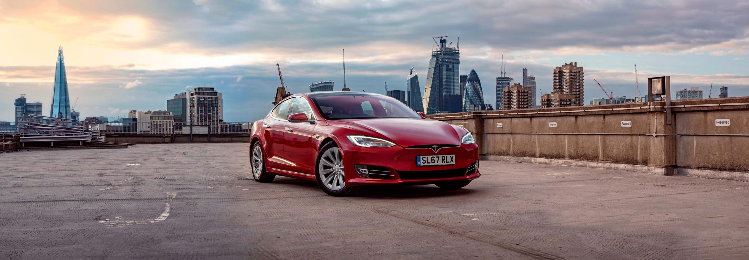 Tesla Model S - Photography by Dean Wright Automotive