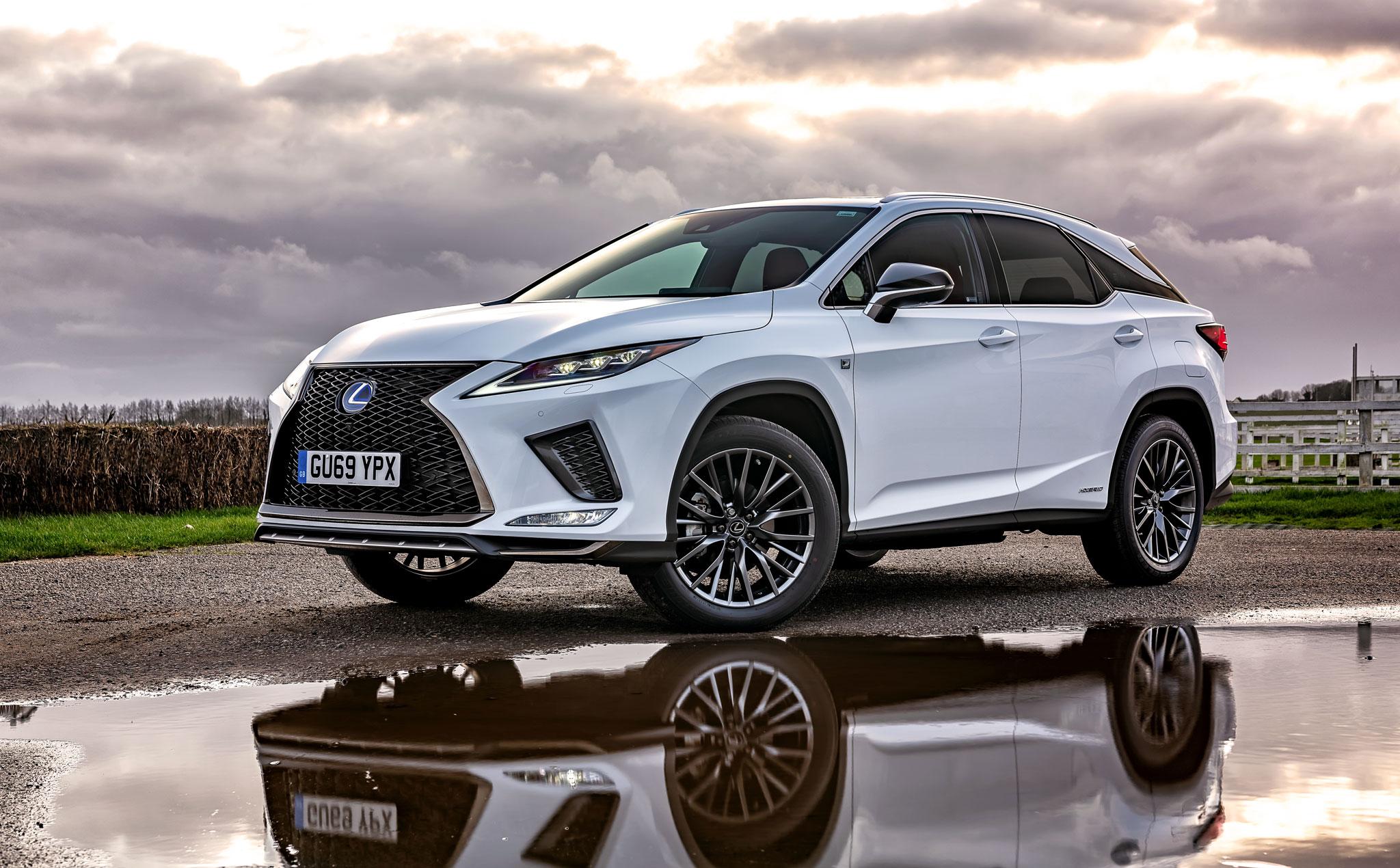 New Lexus RX Hybrid - Photography by Dean Wright Automotive
