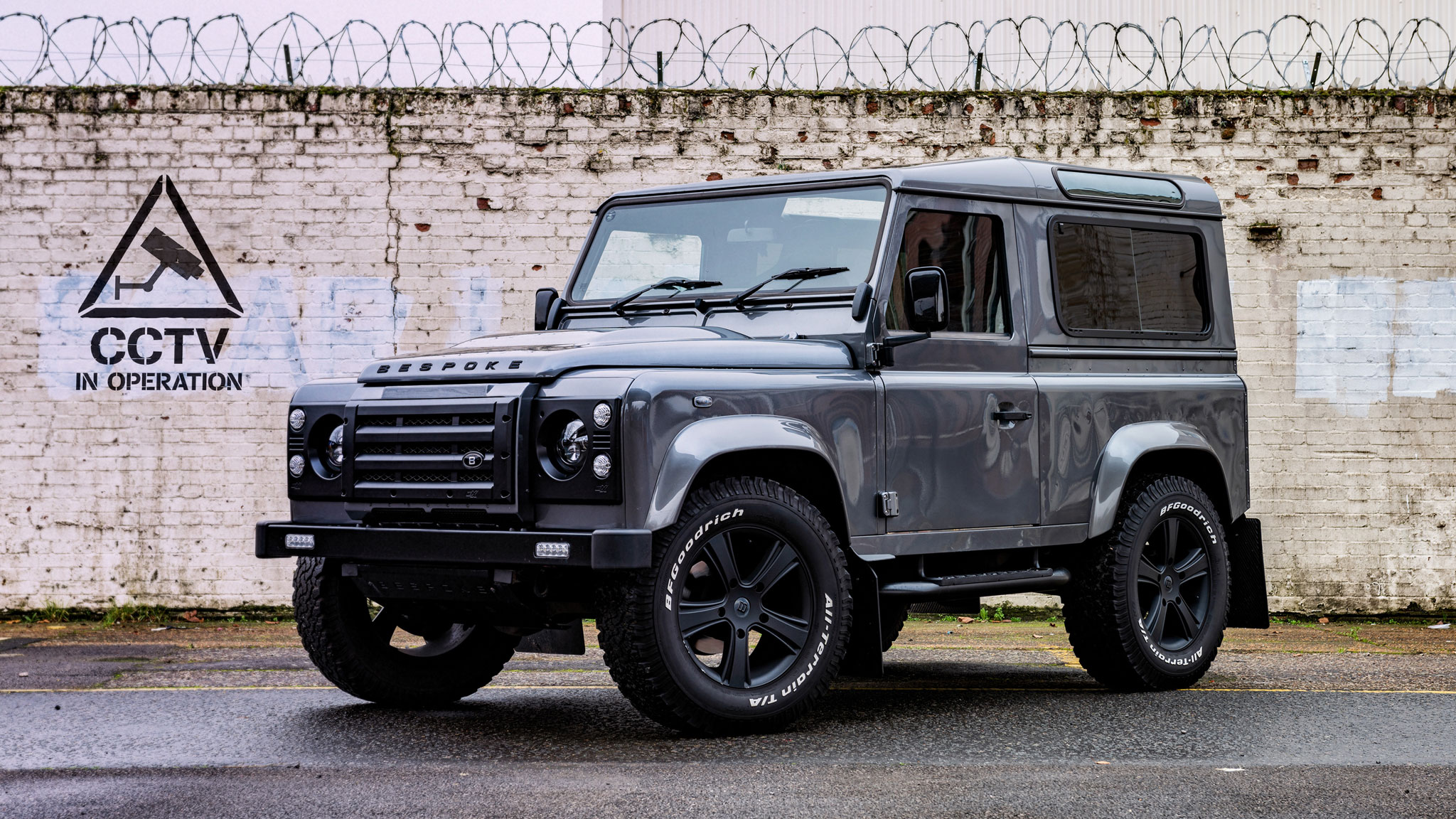 Bespoke Defender shot by Dean Wright Automotive