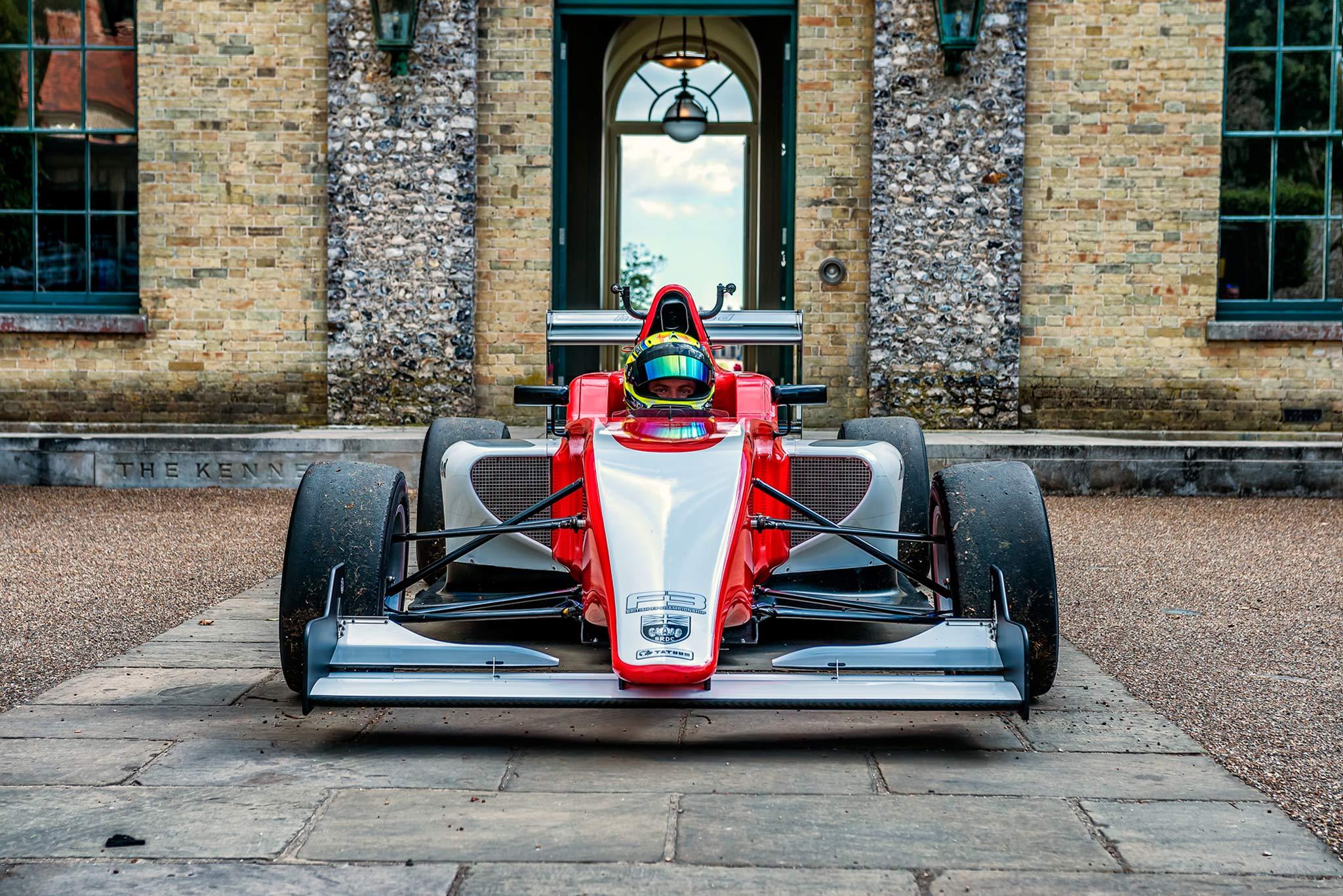 driver portrait Motorsport Photography by automotive Photographer Dean Wright Automotive