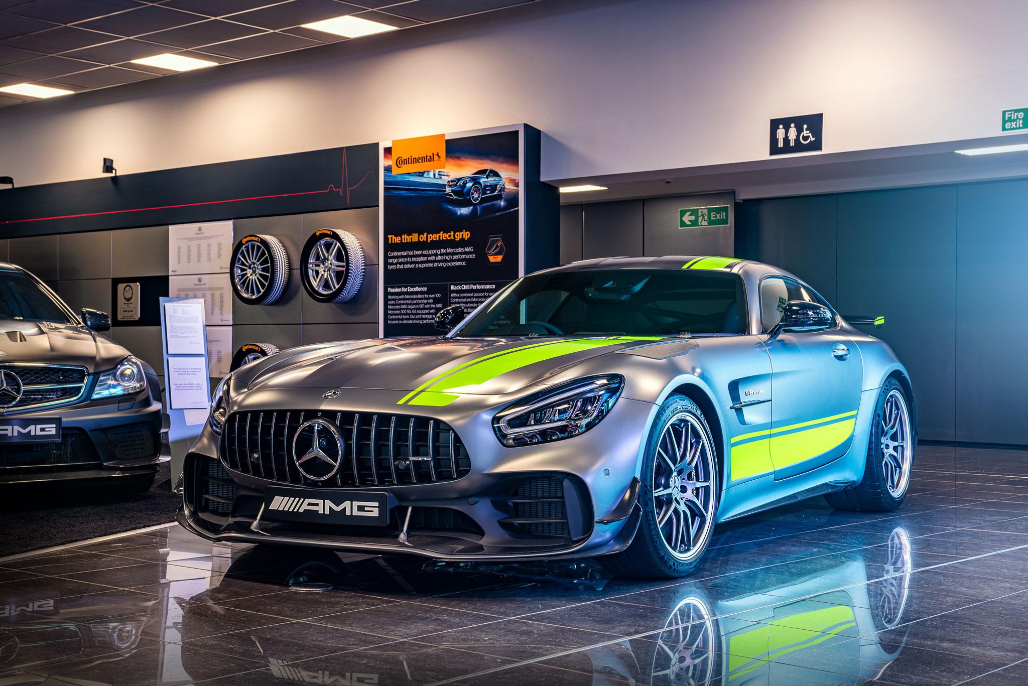 Car showroom Photography