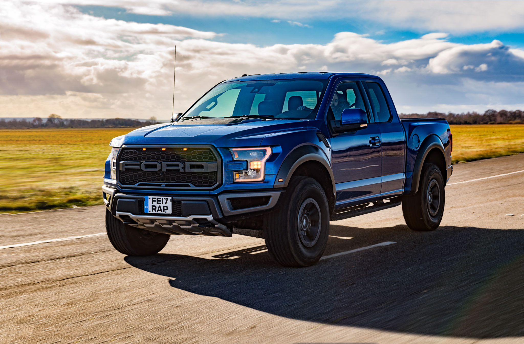 Ford Raptor tracking shot by DeanWrightAutomotive