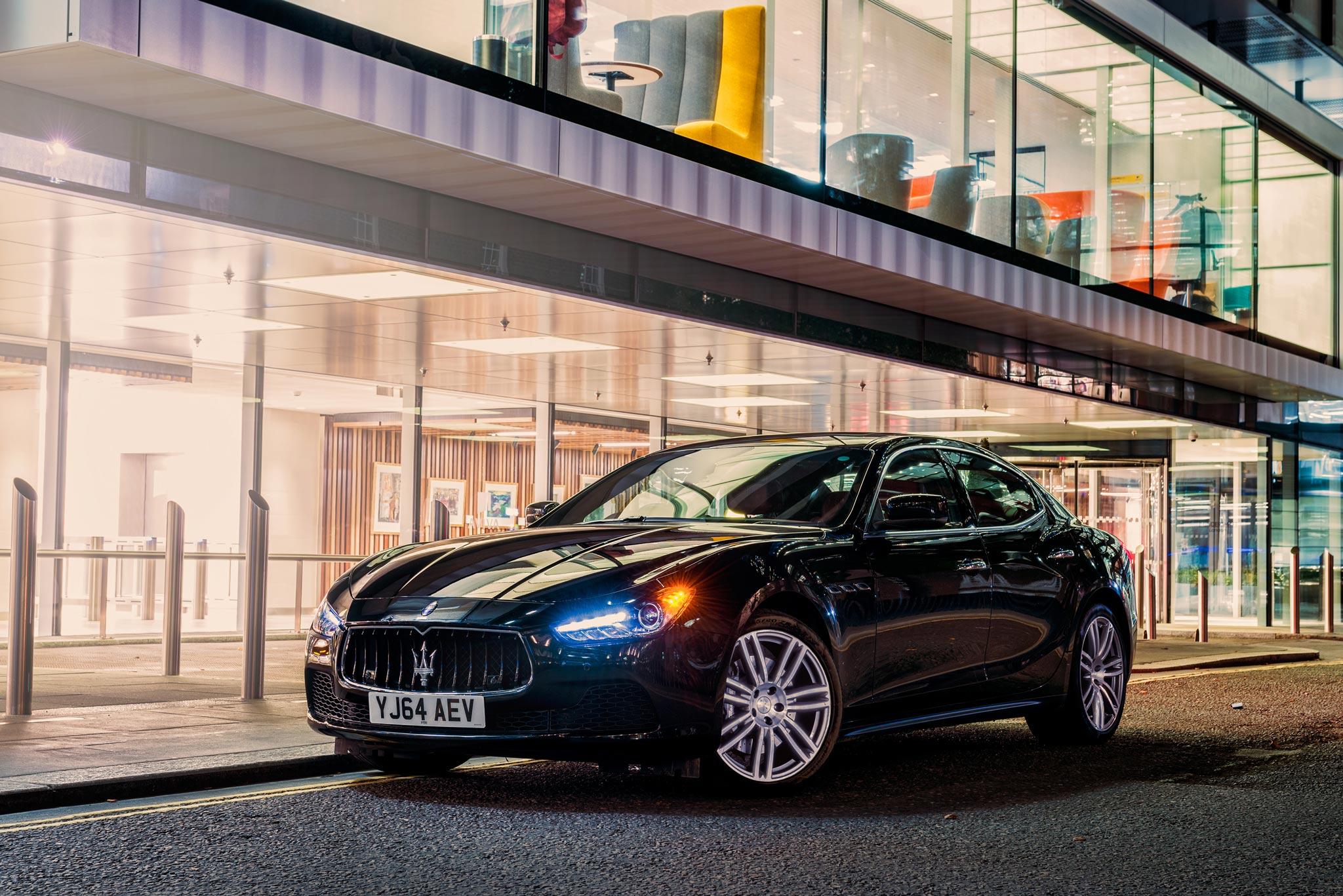 Maserati Ghibli Sports & Luxury Vehicle Photography Dean Wright Automotive