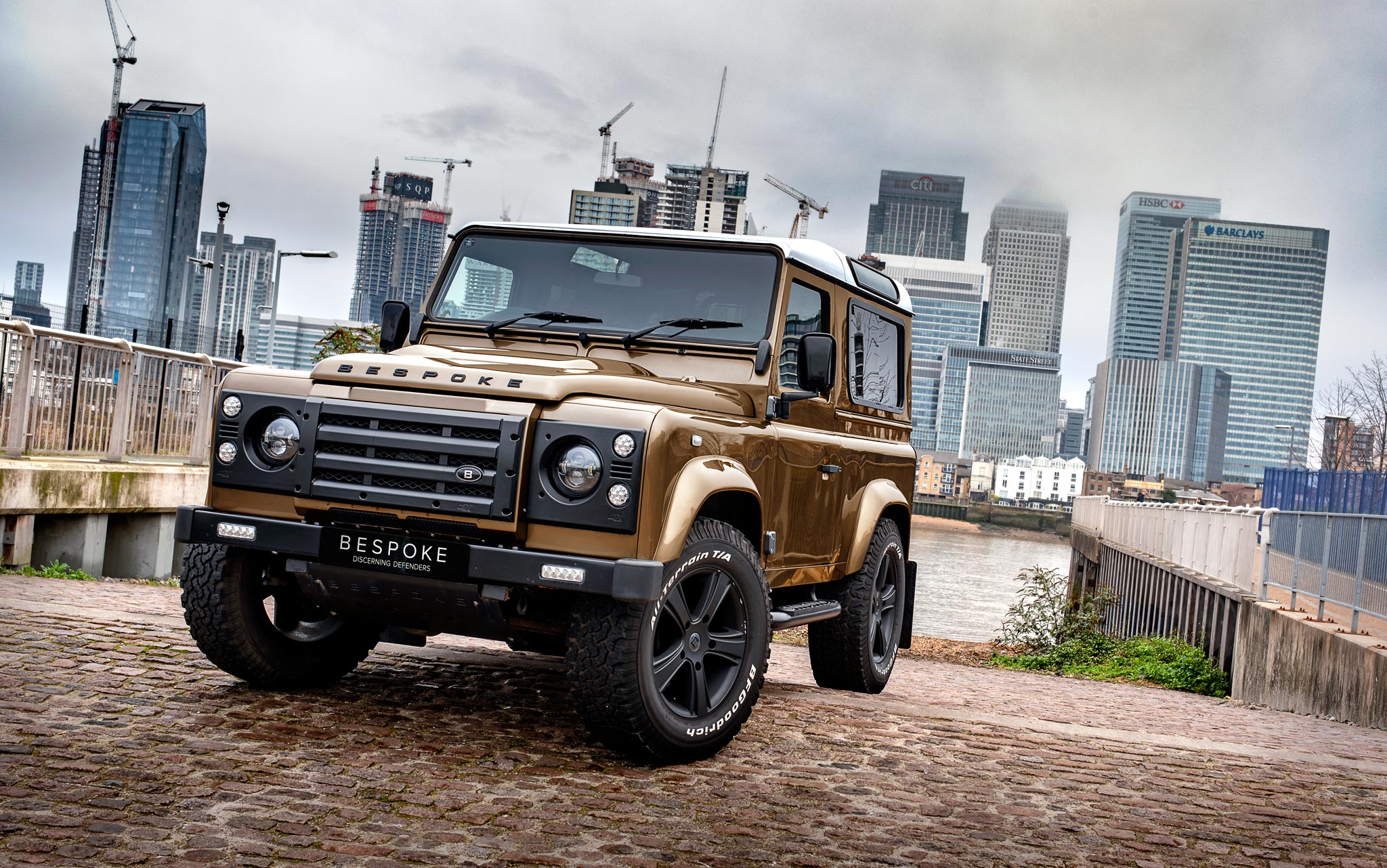 Land Rover Defender Photography by Automotive Photographer Dean Wright for Bespoke Defenders