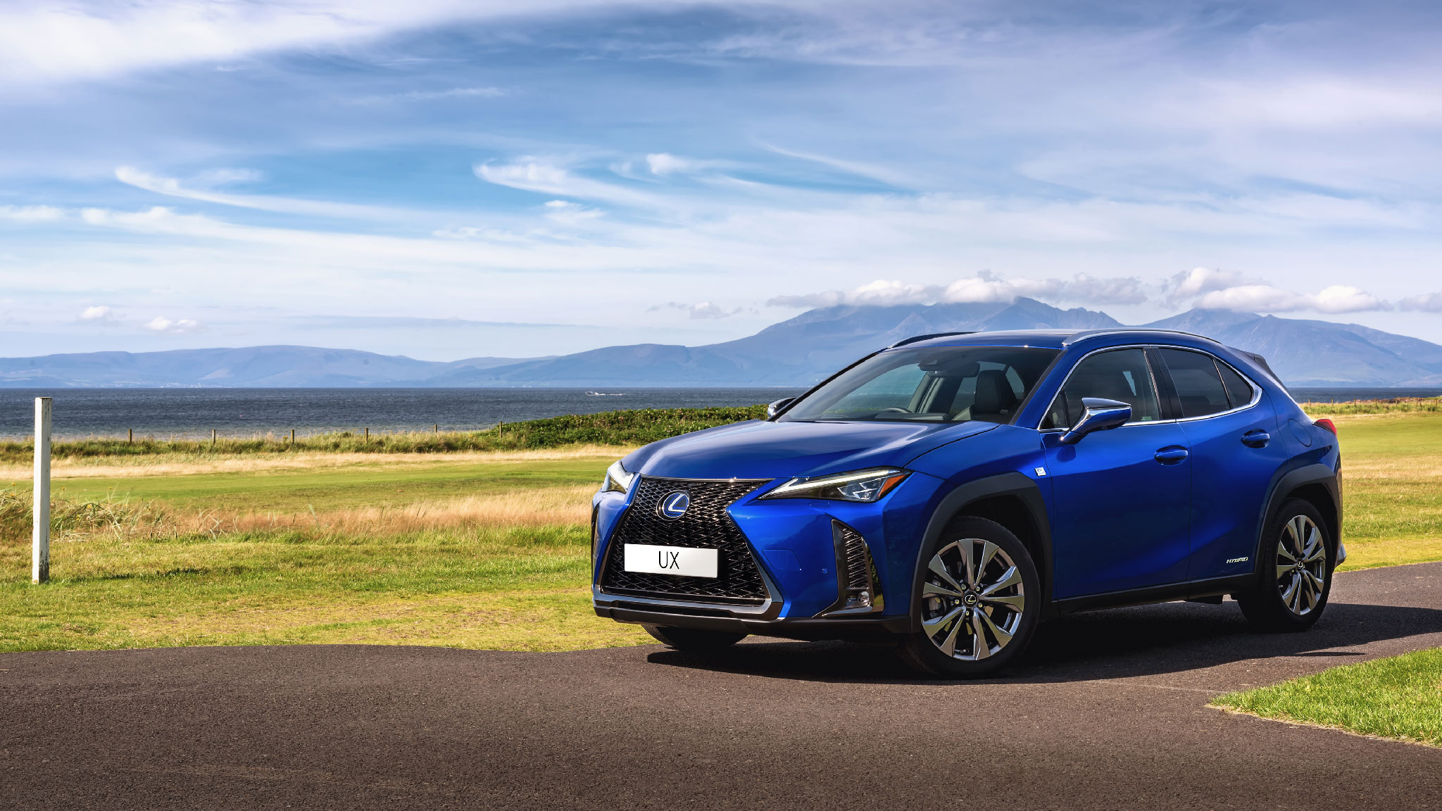 Lexus UX Hybrid & Electric Photography by Dean Wright Photography